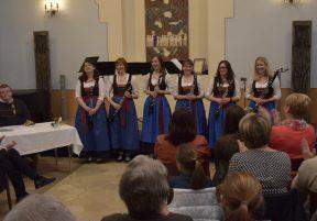 Volles Haus bei Klarischnättra in Concert