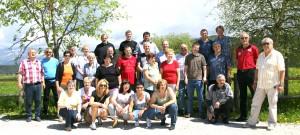 Gruppenfoto bei Kloster Maria Weissenstein