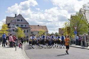 10.05.2015 Das GBO beim Festumzug der FFW in Wertingen.