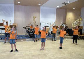 Nachwuchswerbung beim Musikverein Binswangen